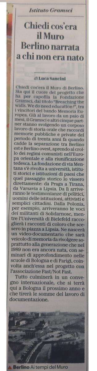 Repubblica di Bologna 7/11/2019